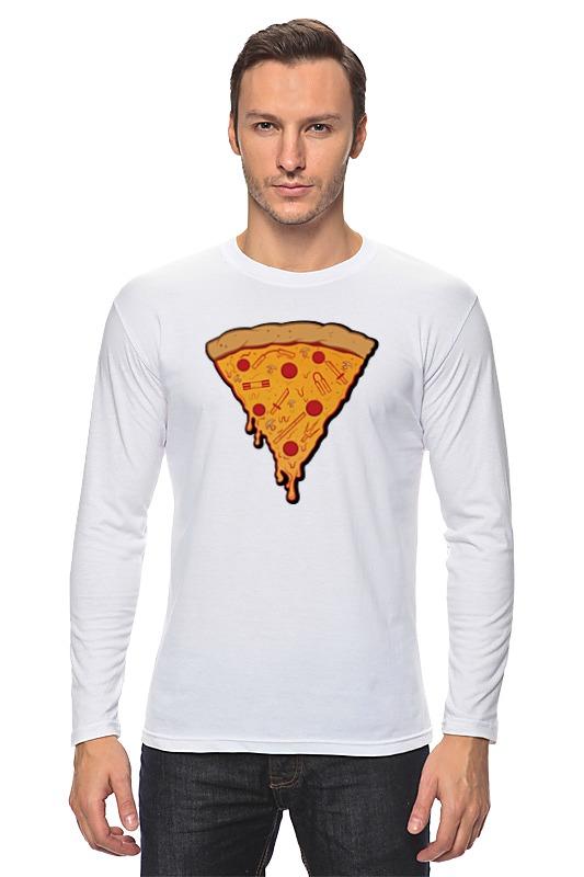 Лонгслив Printio Пицца лонгслив printio любимая пицца
