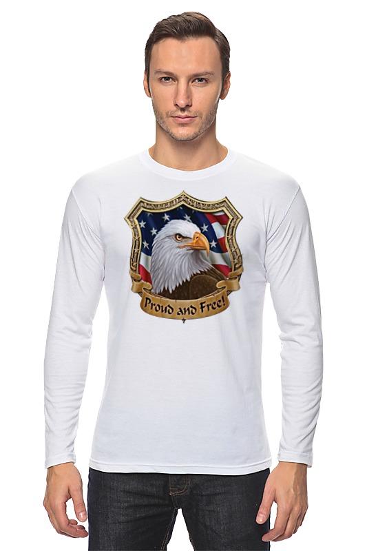 Лонгслив Printio American eagle майка классическая printio american eagle