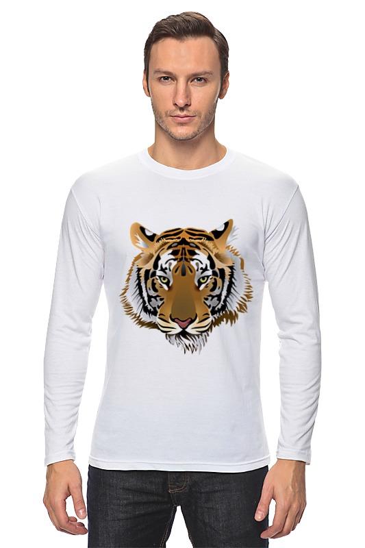 Лонгслив Printio Взгляд тигра европейский и американский улица моды телефона любителей случае apple 6s eiffel телефон iphone6 6plus глаз тигра