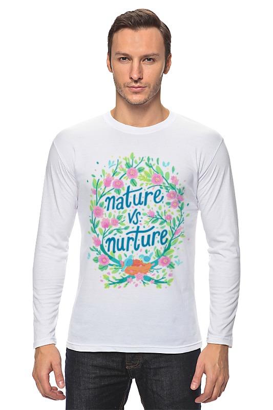 Лонгслив Printio Nature vs nurture vgate vs 890 maxiscan obd ii eobd code reader scanner black