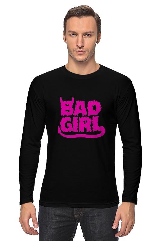 Лонгслив Printio Bad girl (плохая девченка) bad influence