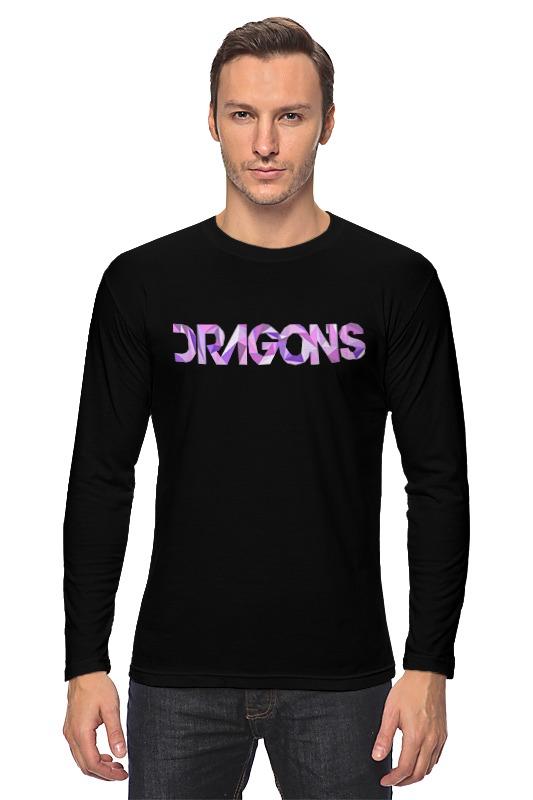 Лонгслив Printio Imagine dragons dragons фигурка toothless сидящий