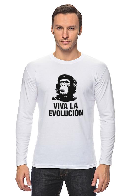 Лонгслив Printio Viva la evolucion все цены