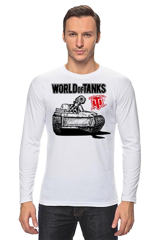 Лонгслив Printio World of tanks лонгслив little world of alena лонгслив