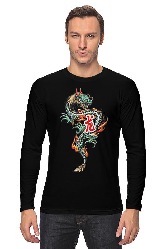 Printio Дракон лонгслив printio дракон из гитары