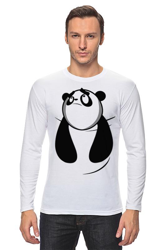 Лонгслив Printio Панда (panda) сумка printio kung fu panda