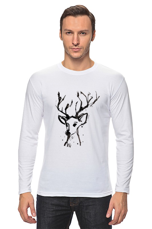 Лонгслив Printio Dear deer костюмы angel dear платье и капри