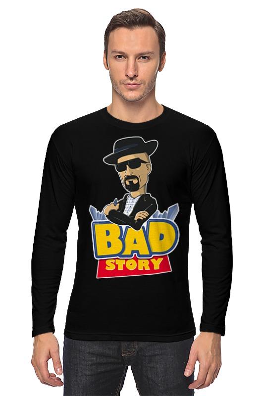 Лонгслив Printio Breaking bad x toy story пальто alix story alix story mp002xw13vur