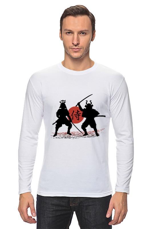 все цены на Лонгслив Printio Два самурая