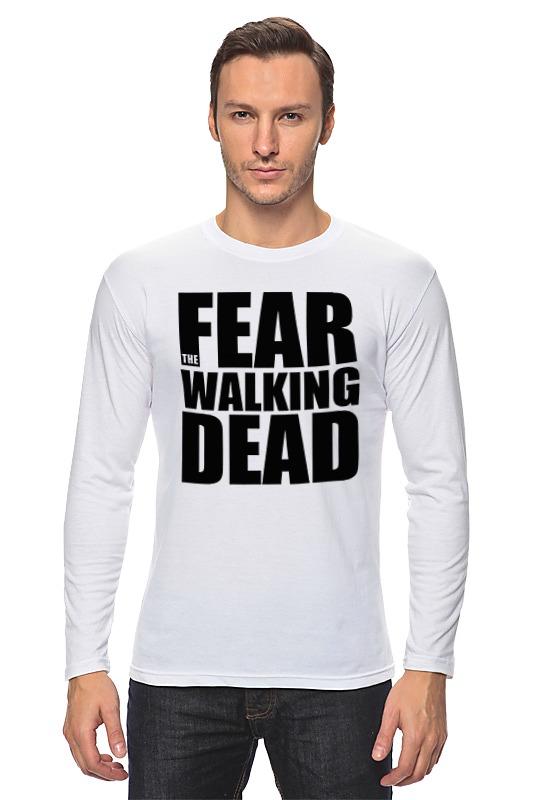 Лонгслив Printio Fear the walking dead the march against fear