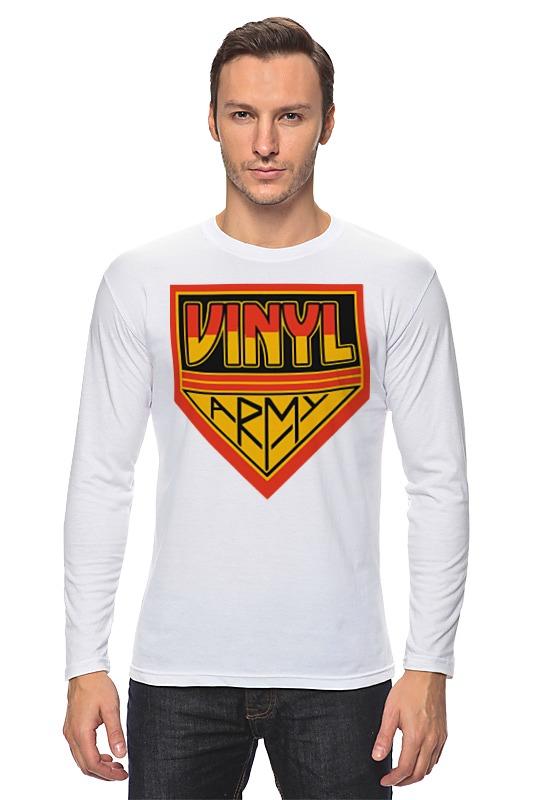 Лонгслив Printio Виниловая армия футболка классическая printio виниловая армия