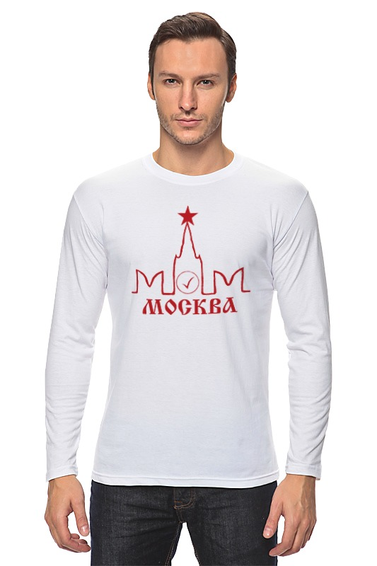 Лонгслив Printio Москва