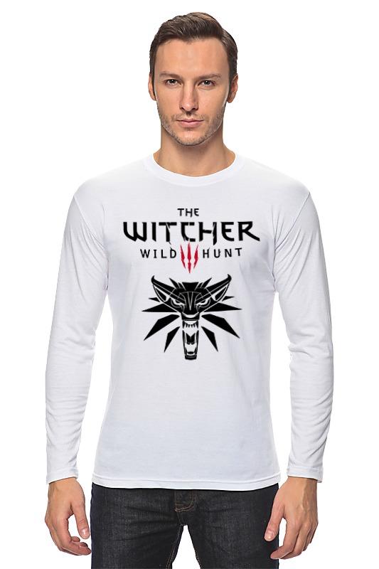 Лонгслив Printio Ведьмак 3: дикая охота худи print bar the witcher 3 wild hunt