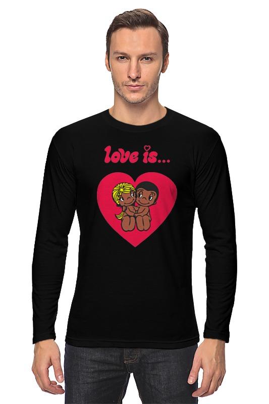 Printio Love is... лонгслив printio love 2