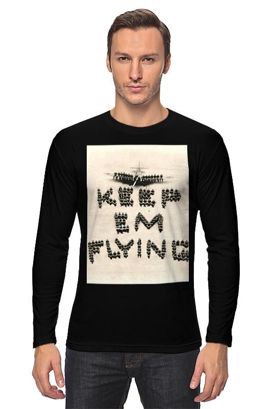 Фото - Лонгслив Printio Летчик футболки и топы апрель футболка летчик пдк546002