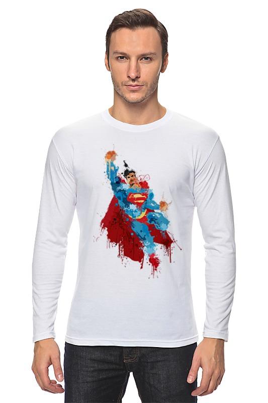 Лонгслив Printio Супермен джерри маллиган пол десмонд джо бенжамин дейв бейли gerry mulligan