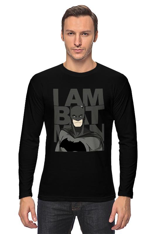 Лонгслив Printio Бэтмен (batman) лонгслив printio batman waiting for you