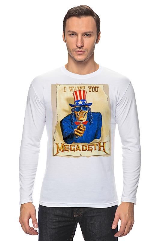 Лонгслив Printio Megadeth megadeth megadeth dystopia