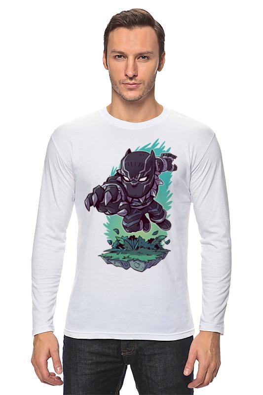 Лонгслив Printio Чёрная пантера / black panther цены онлайн