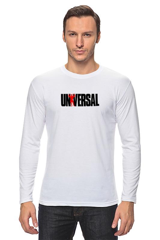 Лонгслив Printio Universal nutrition футболка классическая printio universal nutrition