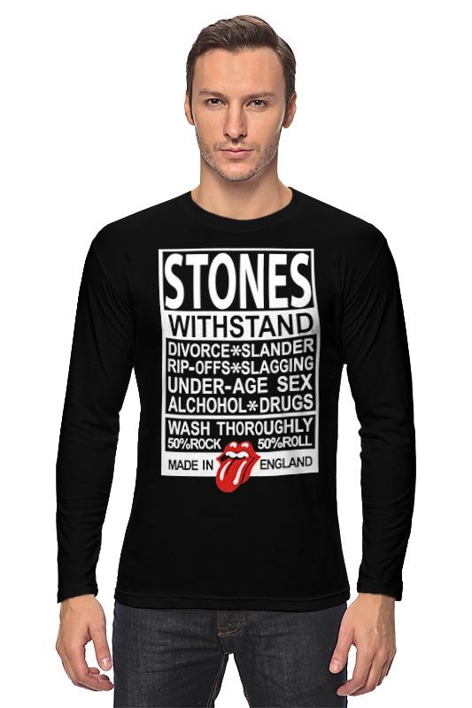 Лонгслив Printio The rolling stones рубашка поло printio the rolling stones