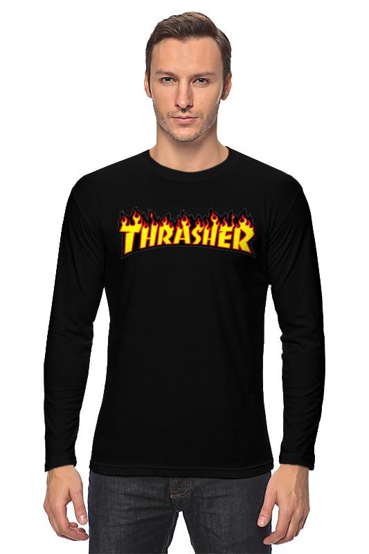 Лонгслив Printio Thrasher thrasher майка thrasher gonz raceback blue m