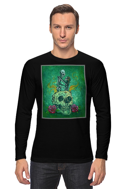 Лонгслив Printio Skeleton art skeleton