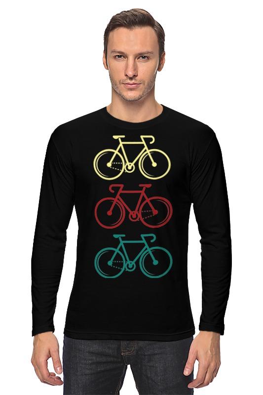 Лонгслив Printio Велосипеды велосипеды
