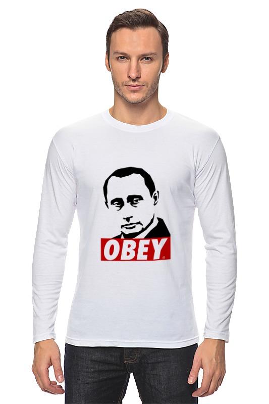 Лонгслив Printio Путин obey лонгслив printio путин obey