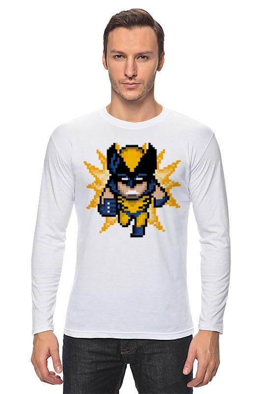 Лонгслив Printio Росомаха (люди икс) футболка стрэйч printio росомаха люди икс