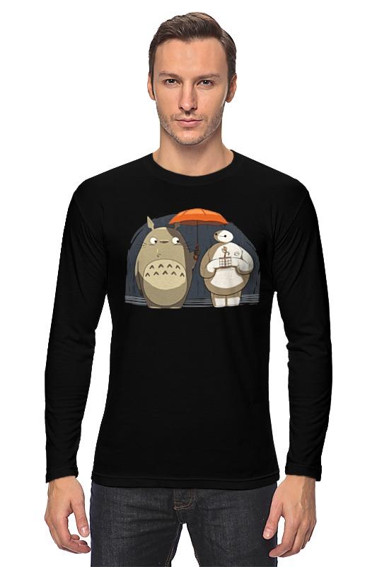 Лонгслив Printio Totoro x baymax лонгслив printio totoro x baymax