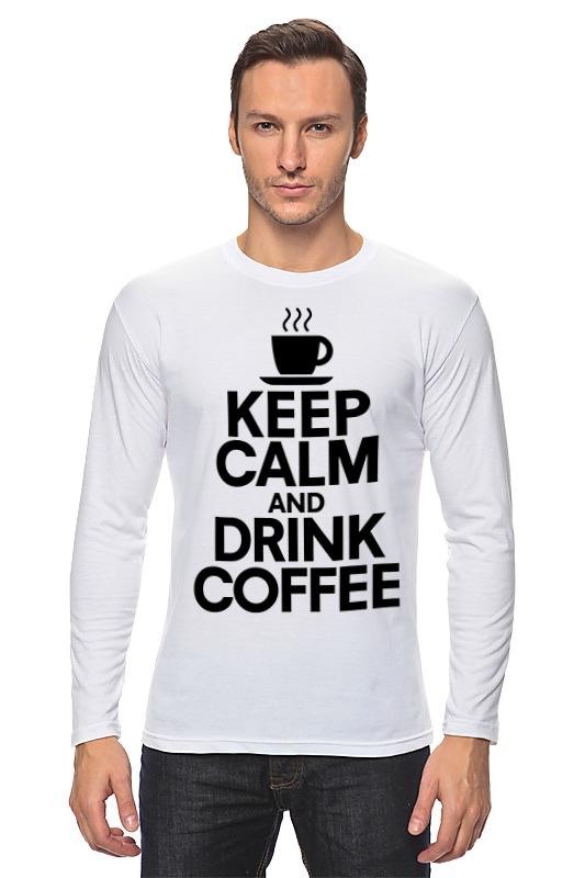 Лонгслив Printio Пей кофе именной кофе пей кофе