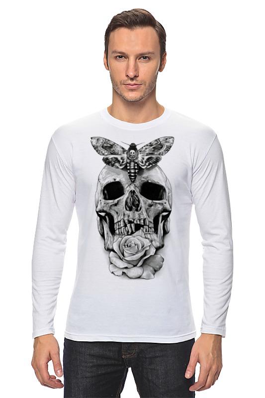 Лонгслив Printio Skull - 10 лонгслив printio low poly skull
