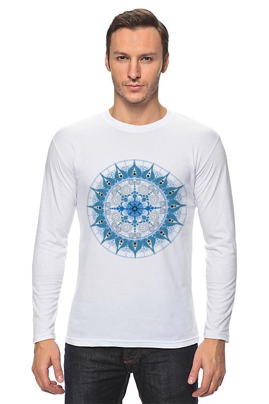 Лонгслив Printio Мандала для счастья в личной жизни футболка wearcraft premium printio мандала для счастья в личной жизни