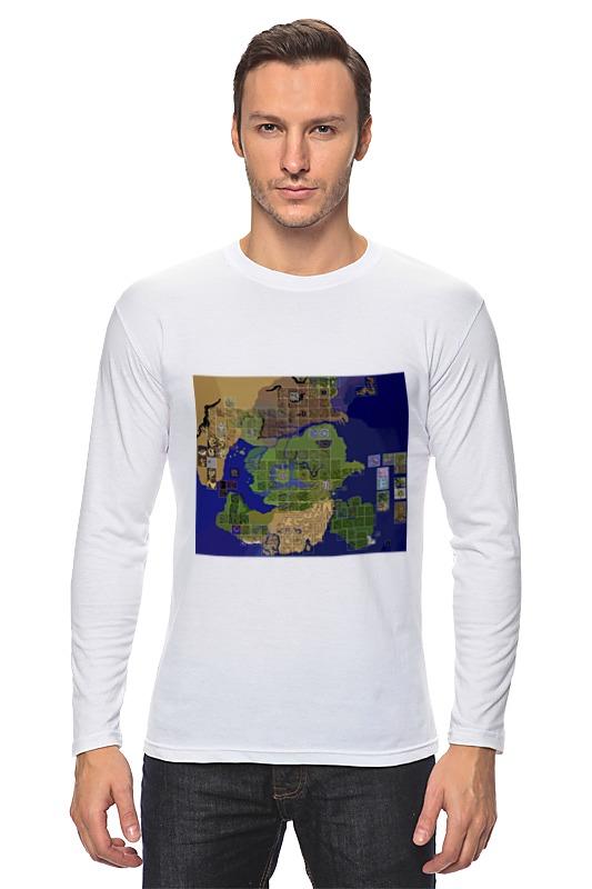 Лонгслив Printio Карта мира ragnarok online карта видеозахвата avermedia bu111 extremecap sdi внешний