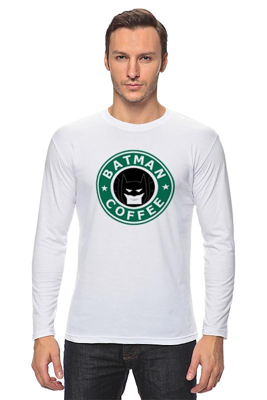Лонгслив Printio Batman coffee лонгслив printio batman waiting for you