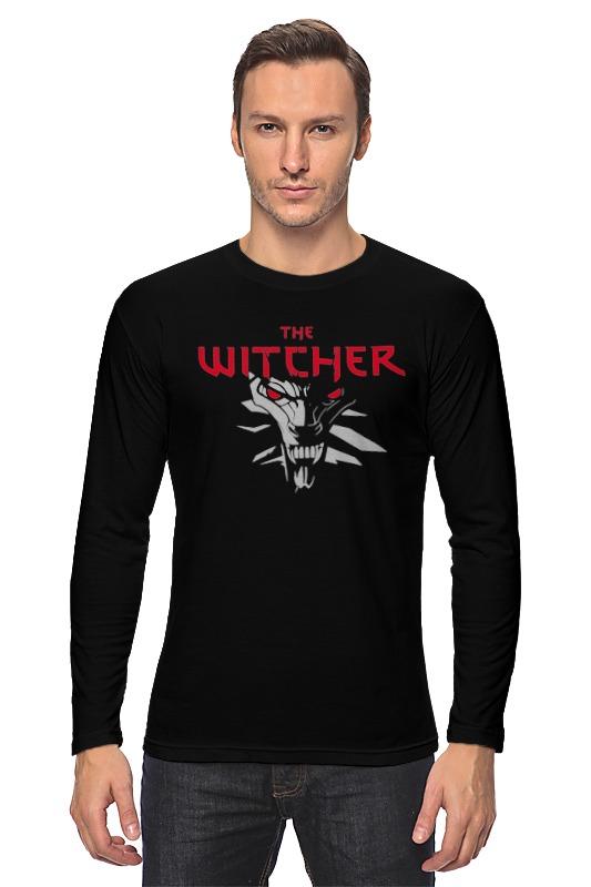 Лонгслив Printio The witcher 3 the witcher 3 geralt action figure model toy