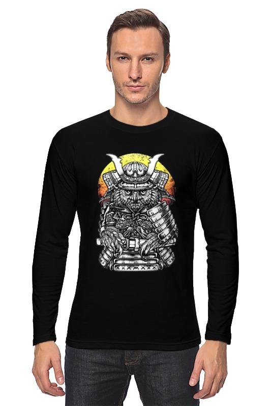 Лонгслив Printio Owl samurai / сова самурай