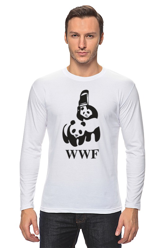 Лонгслив Printio Панды майка print bar панды