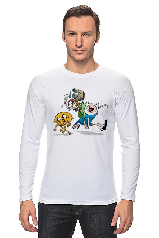 Лонгслив Printio Adventure time романчук леся софия не оставляй роман