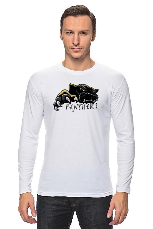 Лонгслив Printio Черная пантера