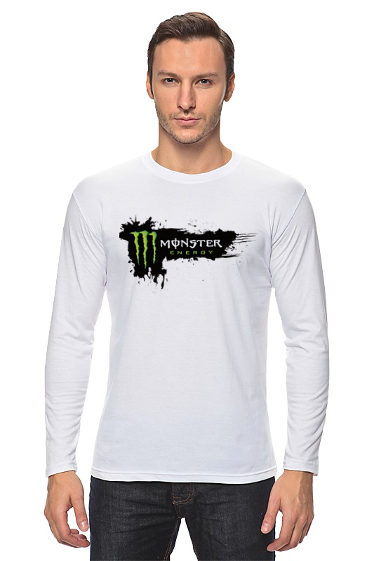 Лонгслив Printio Monster energy
