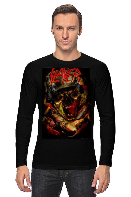 Printio Slayer thrash metal band футболка wearcraft premium slim fit printio slayer thrash metal band