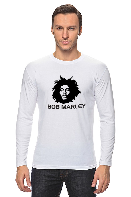 Лонгслив Printio Marley bob marley