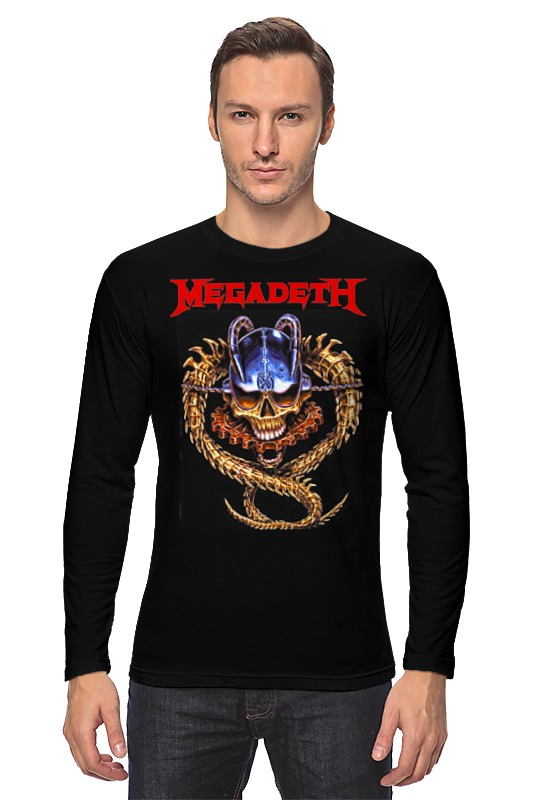 Лонгслив Printio Megadeth megadeth megadeth th1rt3en 2 lp