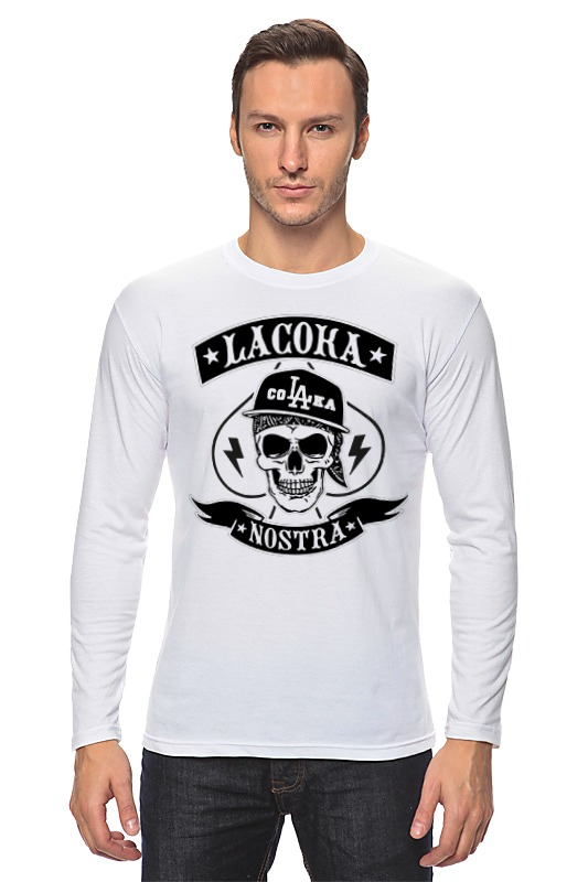 Лонгслив Printio La coka nostra футболки la coka nostra в спб
