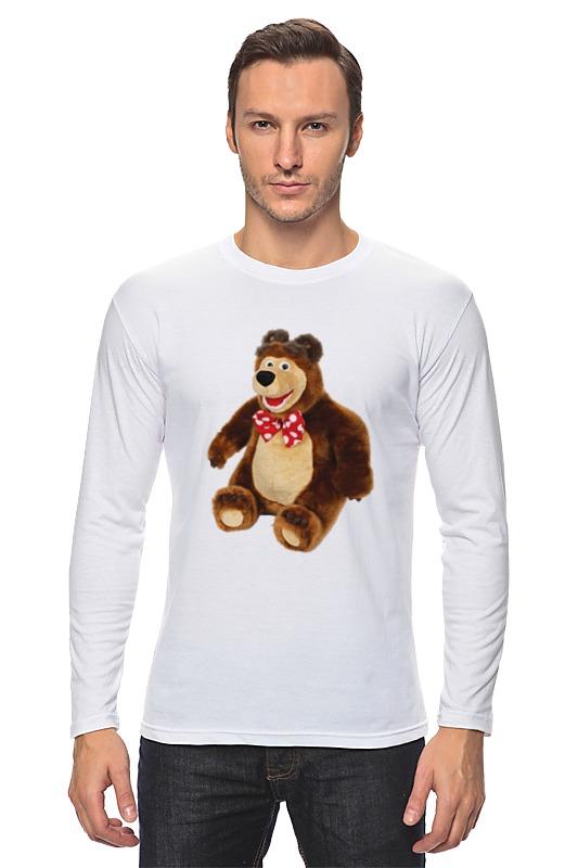 Лонгслив Printio Медведь.мягкая игрушка. любимый мульт. нтм игрушка пластм набор погремушек 4602010375831 мульт