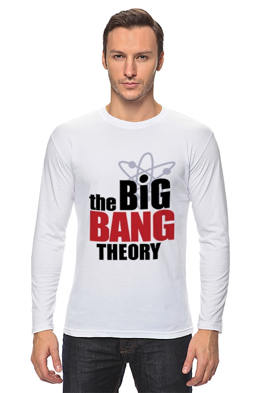 Лонгслив Printio The big bang theory george and the big bang