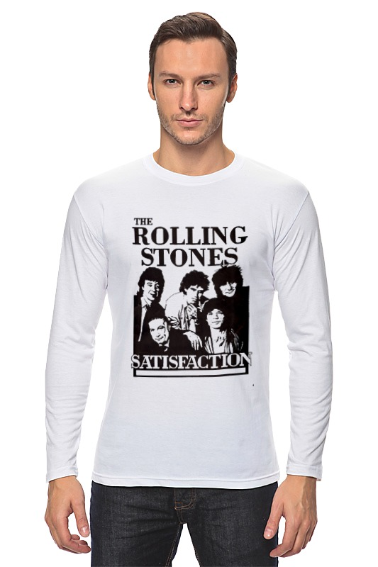 Лонгслив Printio The rolling stones лонгслив printio the rolling stones