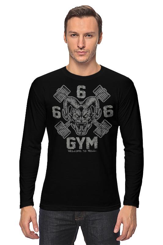 Лонгслив Printio 666 gym computer 666